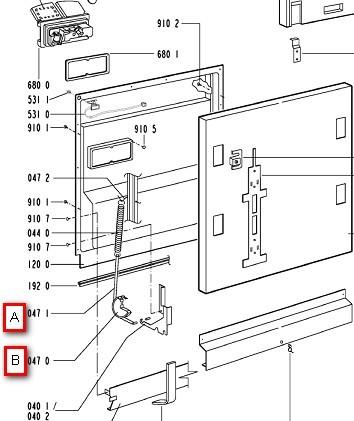 Fonkelnieuw Onderdelen witgoed en bruingoed - wasmachine wasdroger vaatwasser OM-05