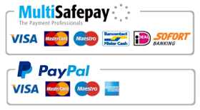 PayPal, iDEAL, MultiSafepay