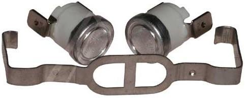 Thermostaatkit (clixon) voor het verwarmingselement wasdroger Bauknecht Whirlpool 481225928681 onderdelen
